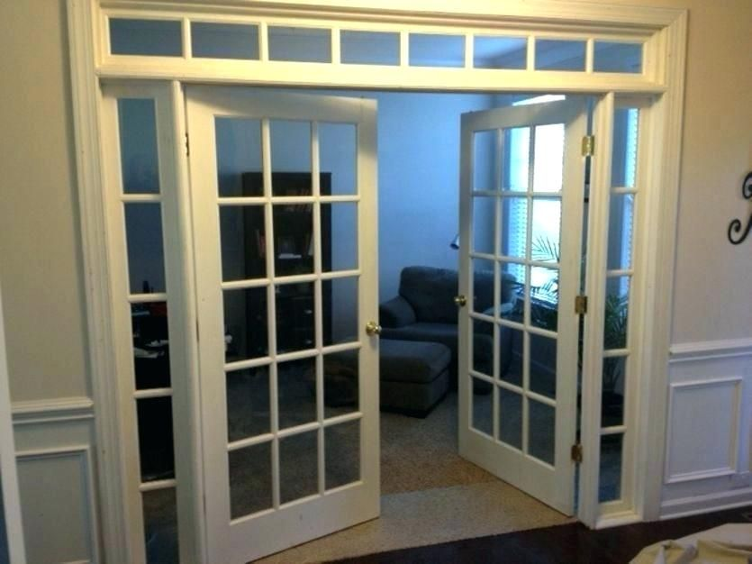 Adorable Interior French Doors With Sidelights And Transom Photographs New Interior French Doo French Doors With Sidelights French Doors Interior French Doors