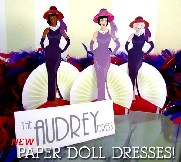 Paper Doll Dresses | Crafts - Red Hatters ideas for ...