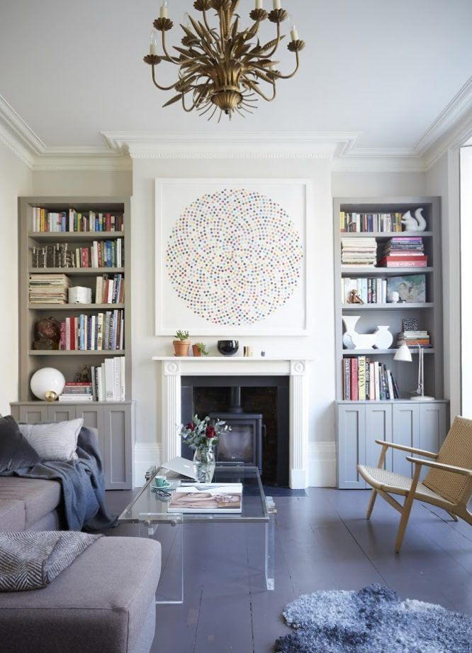 Elegant Eclectic Living Room - New Elegance A Chic and ...