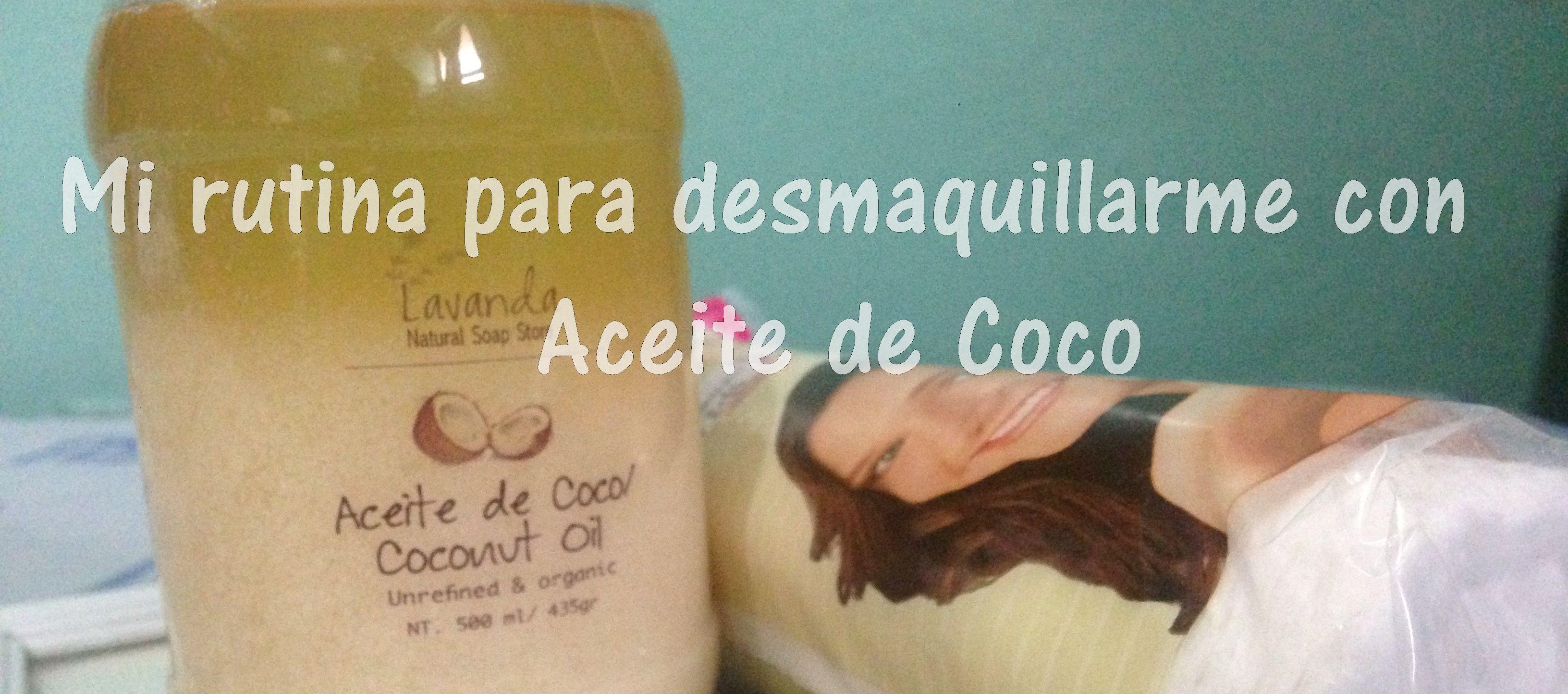 😱Una de las maravillas que hace el aceite de coco es hidratar la piel, no es necesario gastar tanto dinero en un desmaquillante si tenemos el mejor: El aceite de coco!🙌