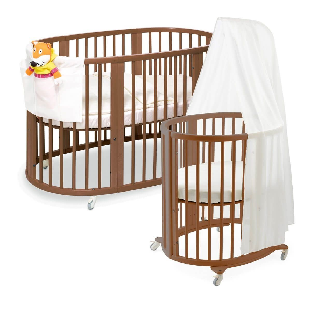 16 Beautiful Oval Round Baby Cribs For Unique Nursery Decor