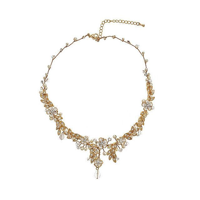 David Tutera Embellish Cynthia Necklace All Dressed Up Jewelry