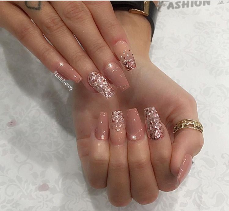 Lengthhh for this style nail #NailsDesign #Nails | Nail polish and ...