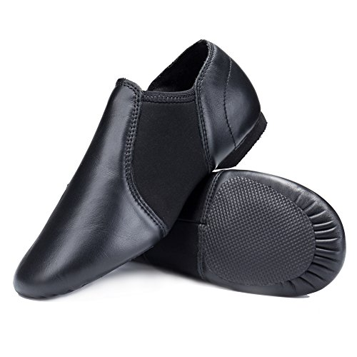 los angeles 100% authentic discount STELLE Leather Jazz Slip-On Dance Shoes for Women Men in 2019 ...