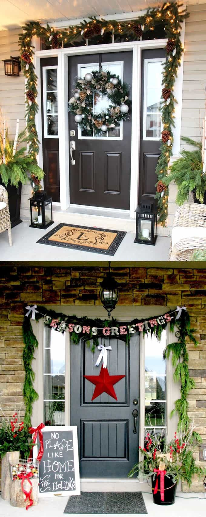 Diy outdoor christmas decorations  Gorgeous Outdoor Christmas Decorations  Best Ideas u Tutorials