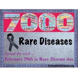 There are 7,000 RARE Diseases - Feb 29th is Rare Disease ...