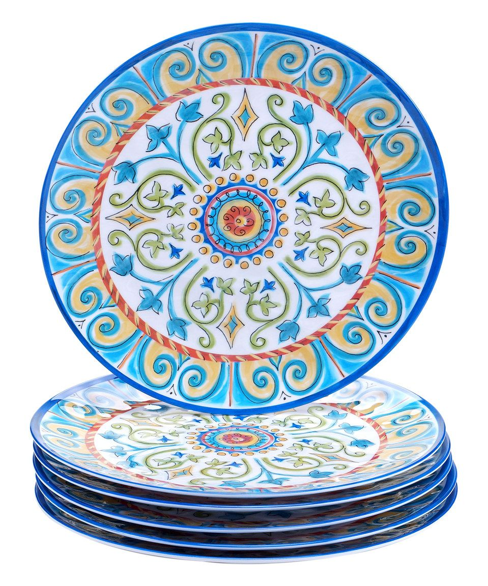 Tuscany dinner plate set of six by certified international zulily zulilyfinds