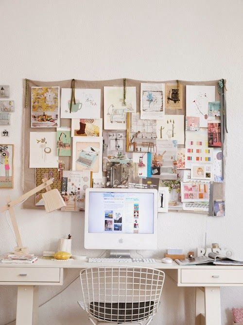 Home Design Vision Board Part - 17: Why Not.make An Inspiration Board? (love The Idea Of An Inspiration Board  Or A Vision Board. Also Makes For A Nice Wall Piece For An Office.