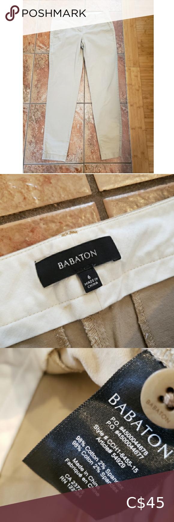 Aritzia Babaton pants size 6
