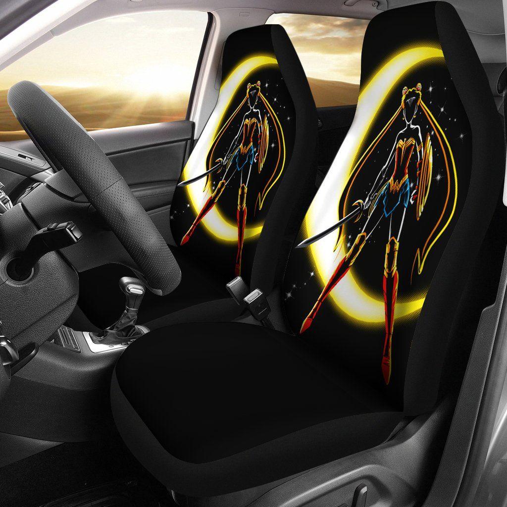 Sailor Moon X Wonder Woman Car Seat Covers