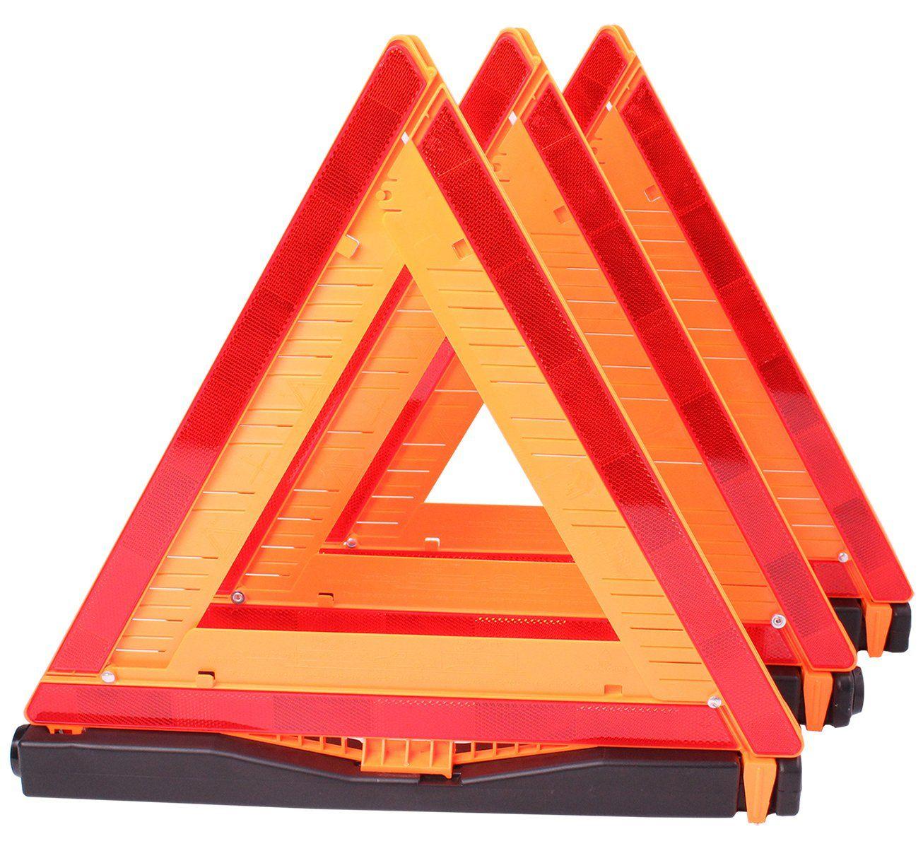 Cartman Warning Triangle DOT Approved 3pk