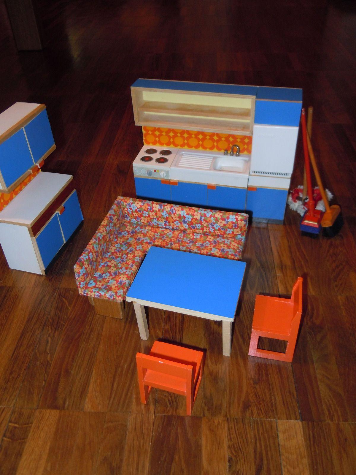 Bodo Hennig Kuche 70er Jahre 1 12 Ebay Dollhouses Miniatures