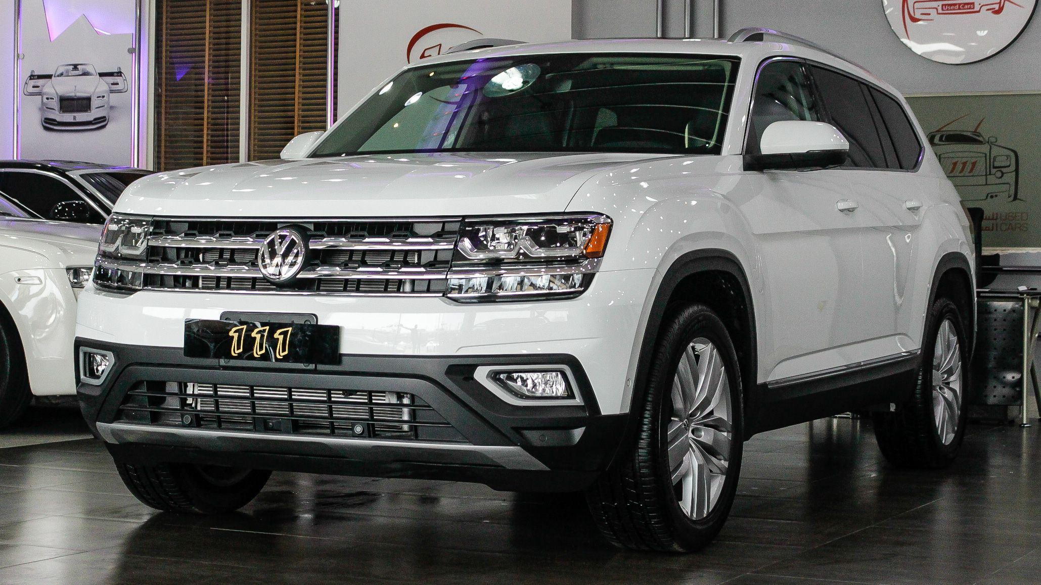 2019 Volkswagen Atlas 4motion 3 6l V6 Sel Premium In 2020 Volkswagen Car Atlas