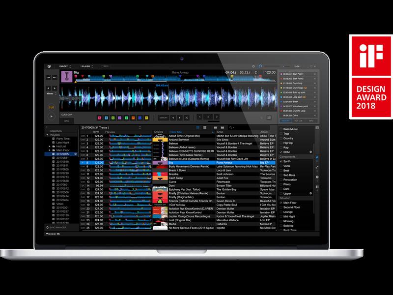 Pioneer REKORDBOX Music Management DJ Software (With
