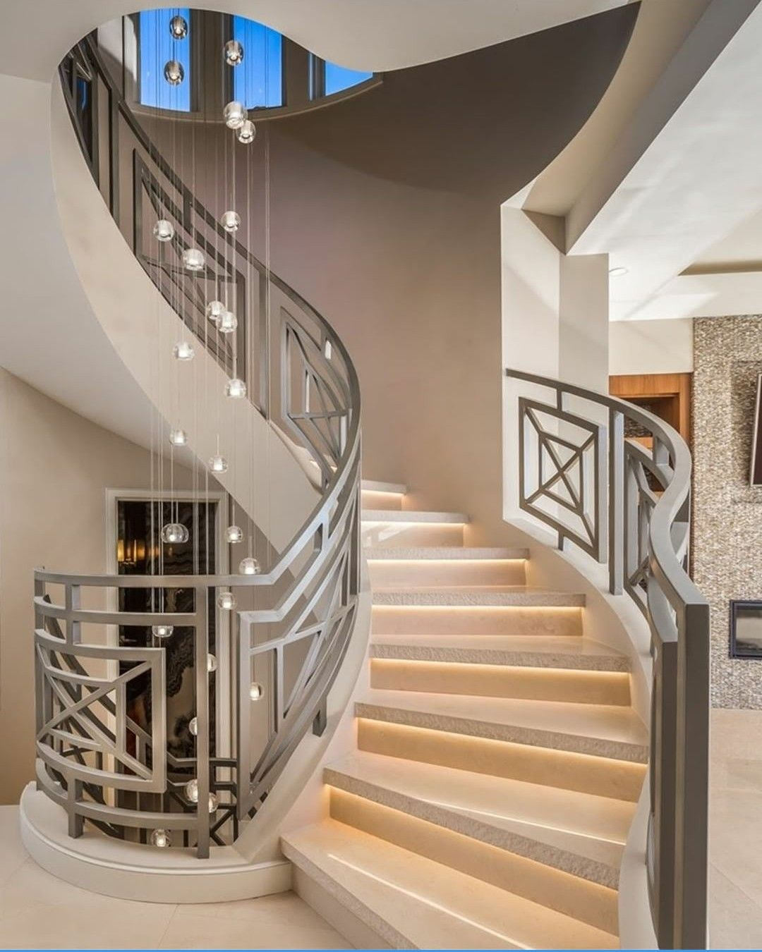 40 Trending Modern Staircase Design Ideas And Stair Handrails: Pin By Juicy Van Gogh On Honey I'm Home