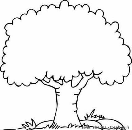 Tree Coloring Page Apple Coloring Pages Tree Coloring Page