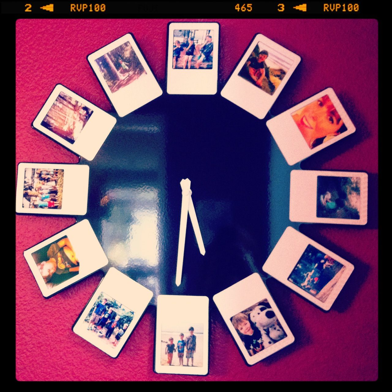 Instagram Frame. Magnetic photo frame clock. Target. Change out the ...