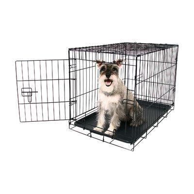 Carlson Pet Single Door Pet Crate Size Medium Dog Crate Wire Dog Crates Xxl Dog Crate