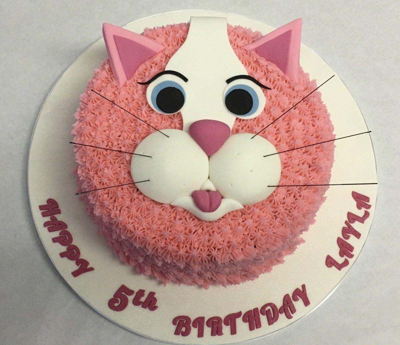 Superb Birthday Cake Cat Kitty Cat Cakes How To Make A Birthday Cake For Funny Birthday Cards Online Hetedamsfinfo