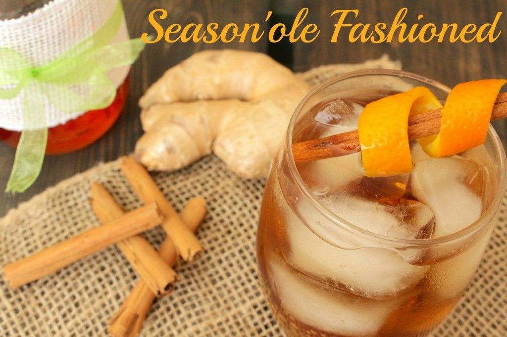 The Old Fashioned cocktail meets a seasonal twist of cinnamon and ginger.