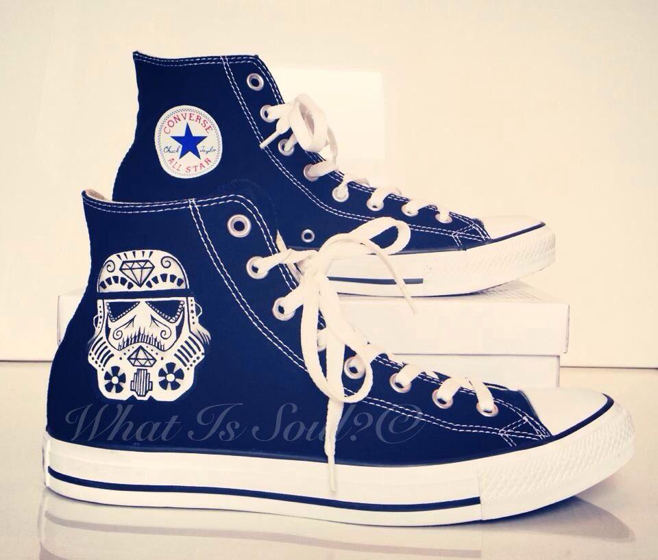 Sugar skull Converse Shoes