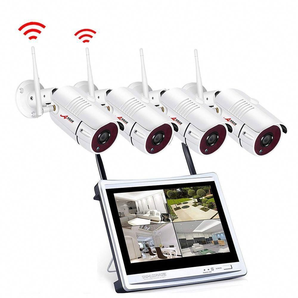 Anran Wireless Security Camera System Monitor 960p Video Surveillance Sy New Wireless Home Security Wireless Home Security Systems Wireless Security Cameras