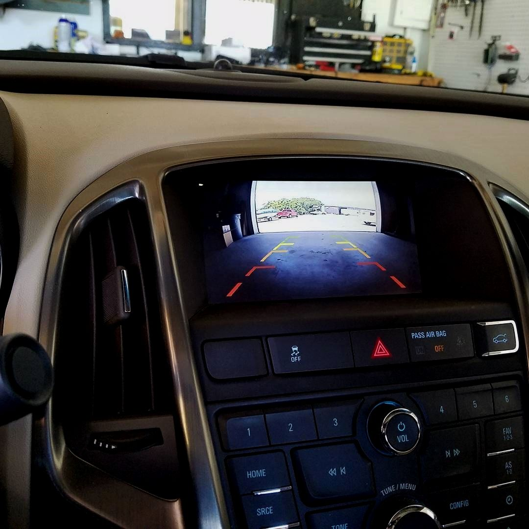 Even Though Most GM Vehicles Have Color Screens In The