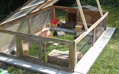 KleintierhilfeMünchen Gehegebeispiele (med bilder) Kanin