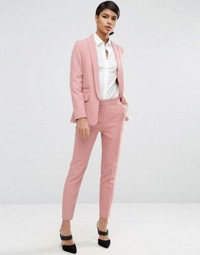 Pant Suits Strong-Willed Lake Blue Women Business Suits Formal Office Suits Work Slim Fit Female Touser Suit Ladies Formal Wear 2 Piece Suits Custom Made Clients First