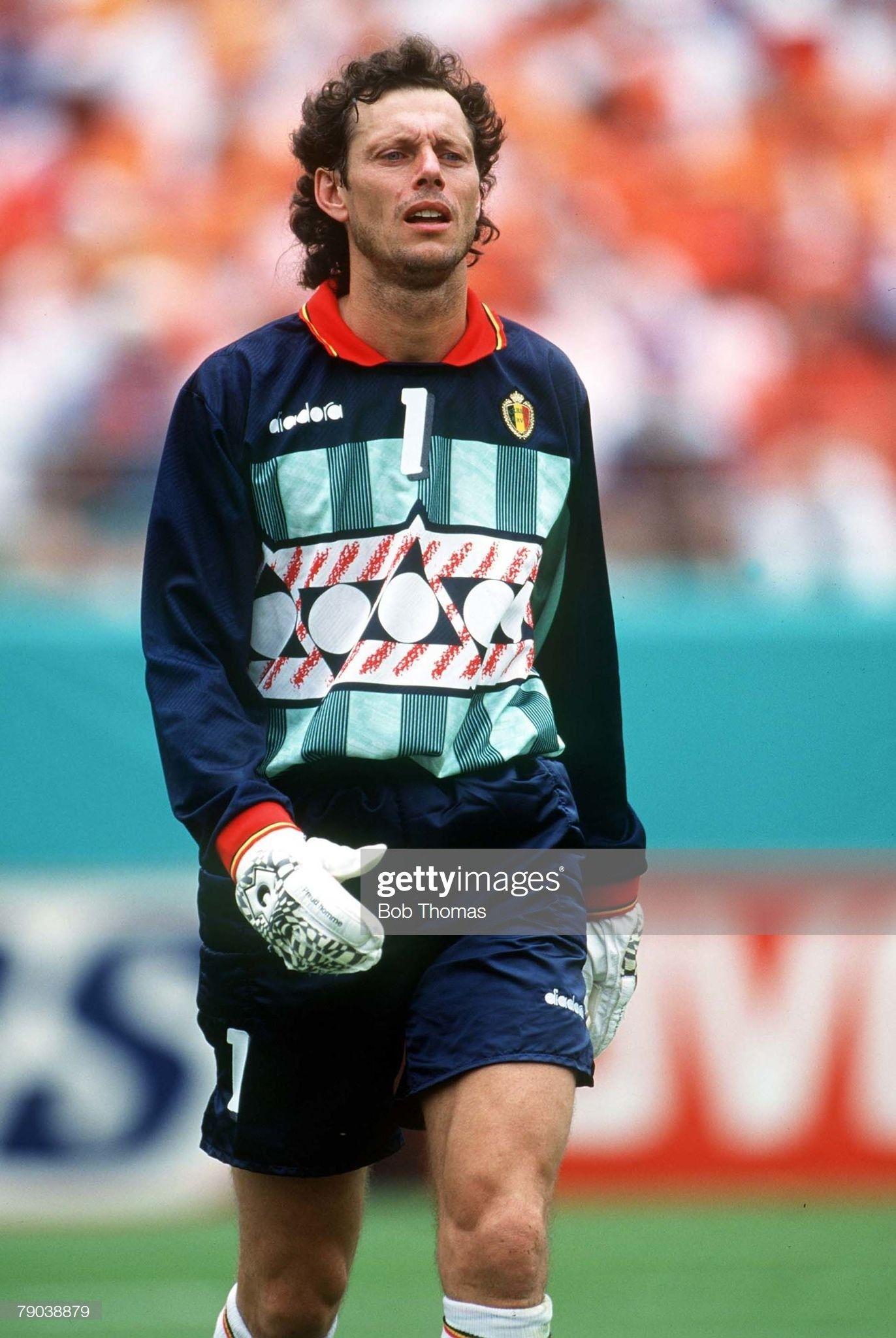 1. Michel Preud'Homme Bélgica (Copa do Mundo 1994