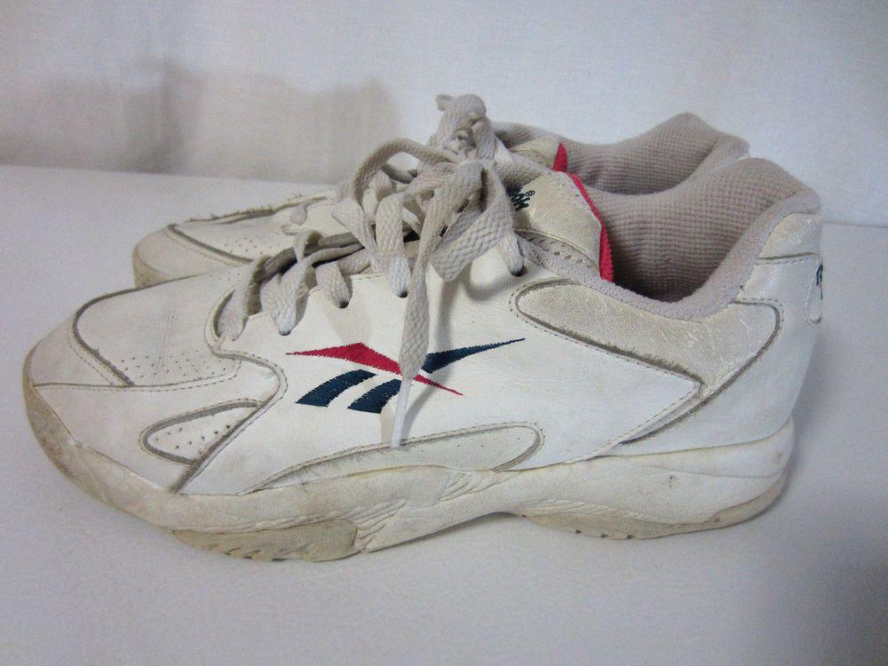 2e9dcb8f96b06 Vintage 80s Reebok Chunky Dad Shoes Sneakers 6-24433 Women's Size 10 ...