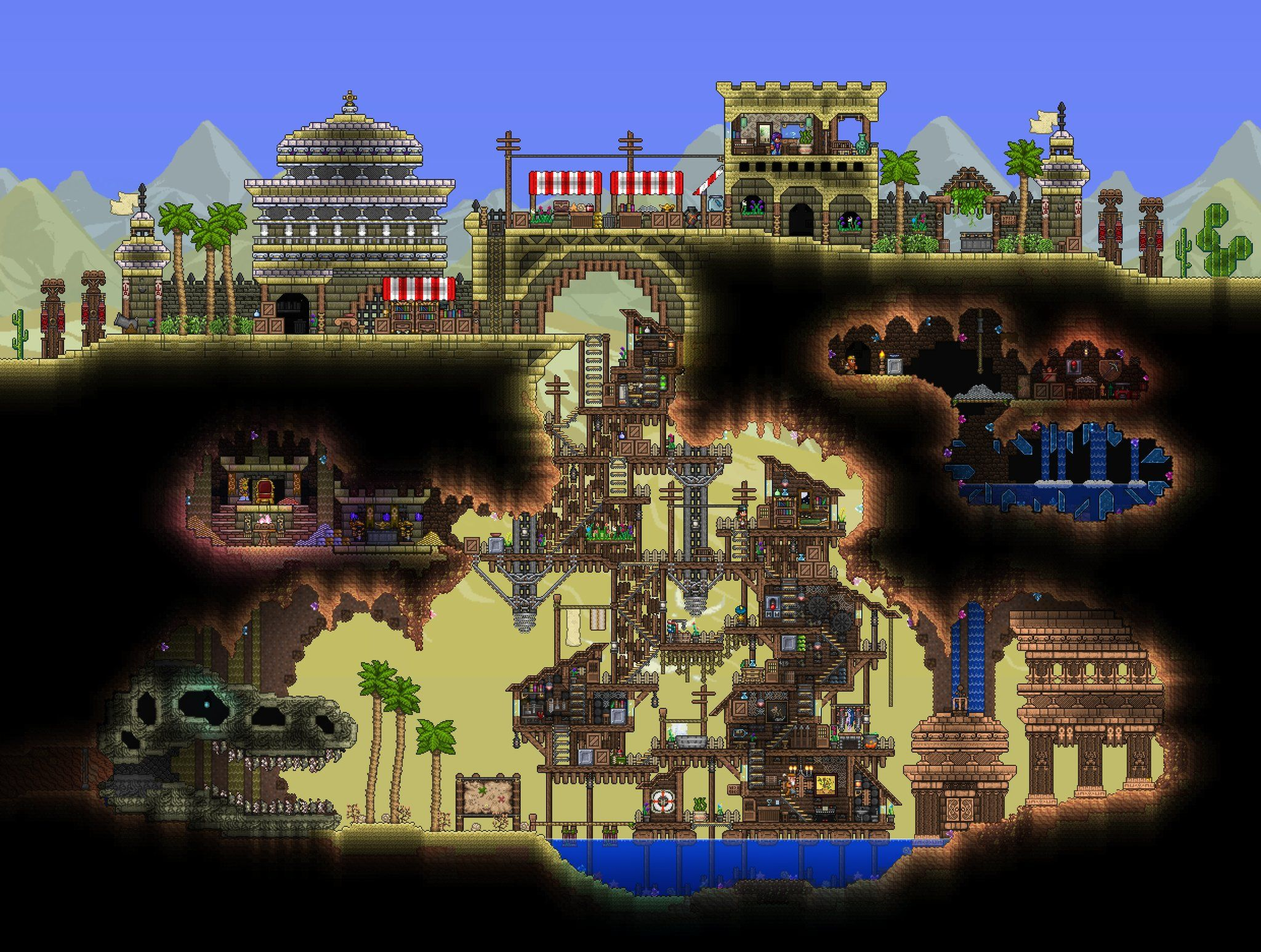 Terraria House Building Ideas