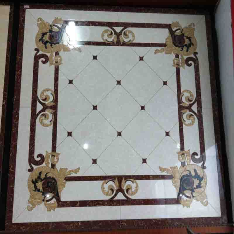 High Artistic Value Tile Medallion Porcelain Tiles Design