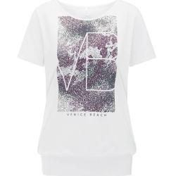 Photo of Venice Beach ladies t-shirt with cuff Rita 04, size Xxl in white Venice Beachvenice Beach
