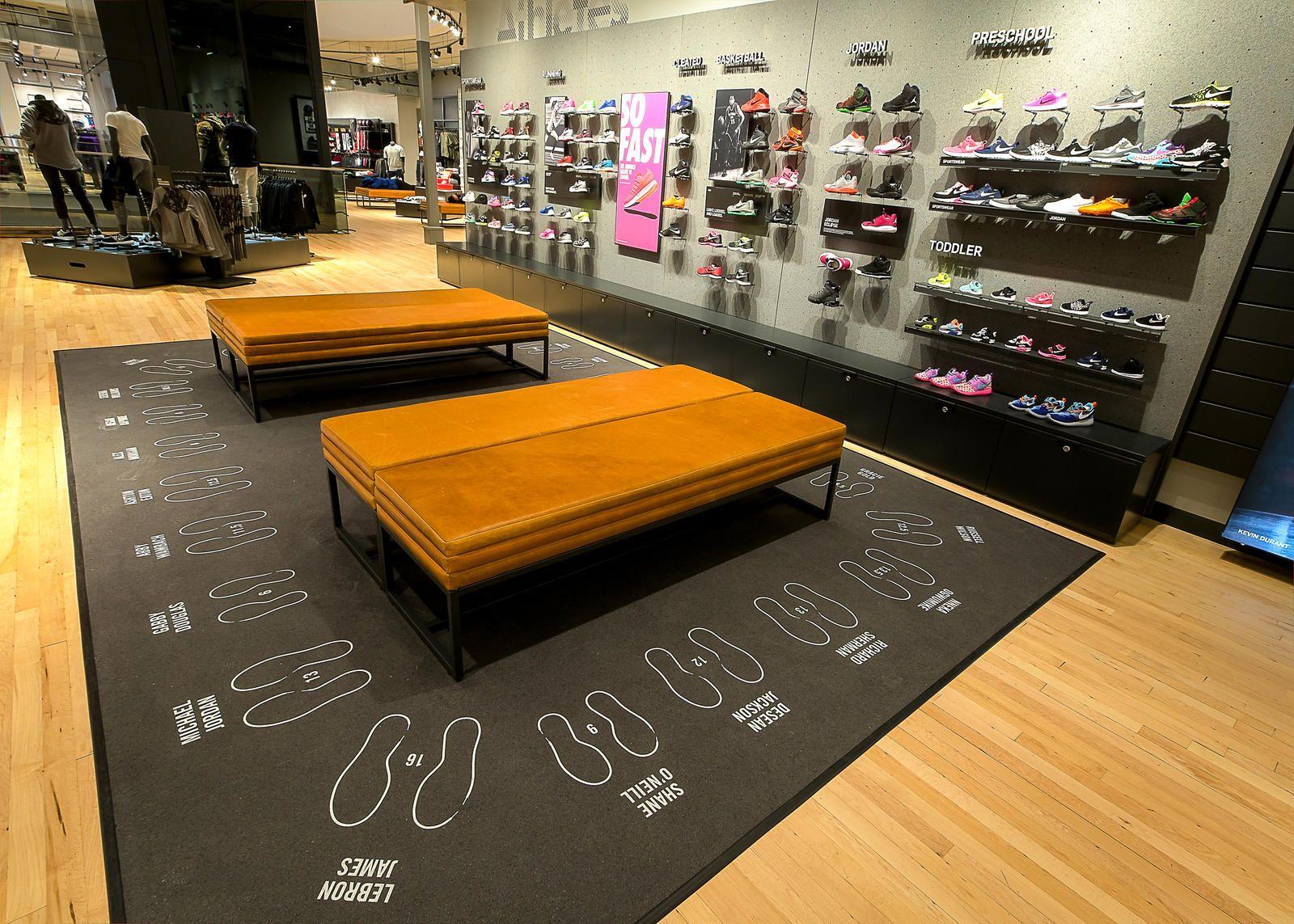 Nike The Grove Celebrates La Store Design Interior
