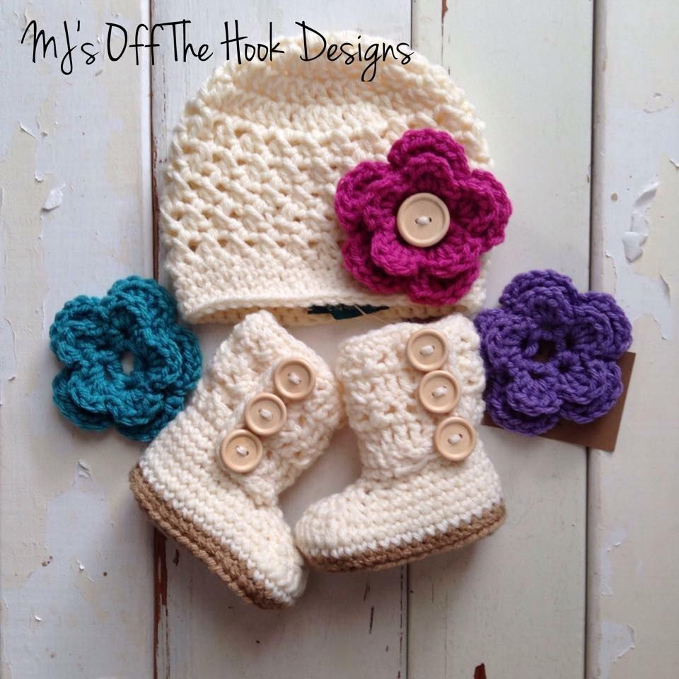 Dusty Rose Baby Set - MJ s off the Hook Designs Free Baby Blanket Patterns 70ccf4a73bca