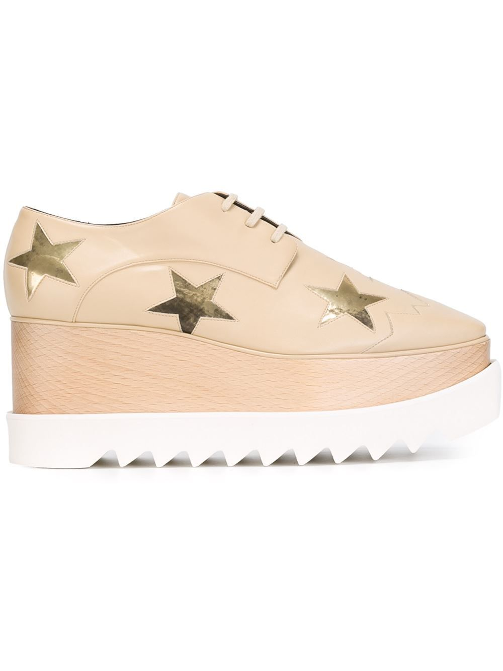 f16d0d42f8e Stella Mccartney  elyse Star  Loafers - Stefania Mode - Farfetch.com ...