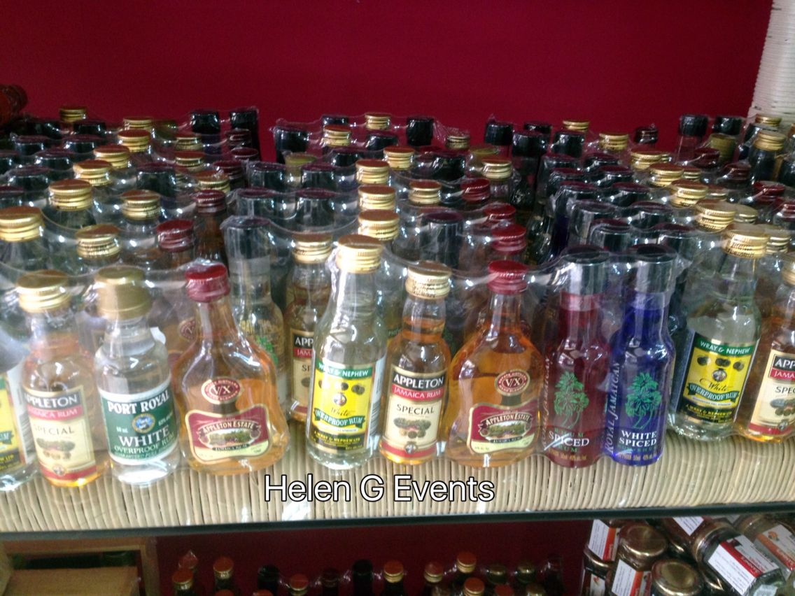 Miniature Jamaican Rum Bottles Pre Packaged These Are Perfect As Wedding Favors For Any Destination