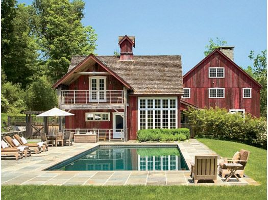 The perfect barn home barn house pinterest pi ces for Pole house piscine