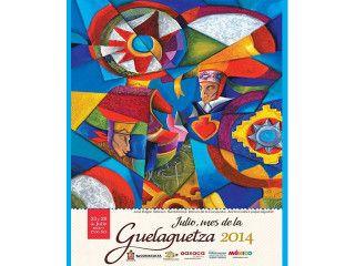 Danza de la conquista.  Acrílico sobre papel algodón. José Edgar Velasco Santibañez