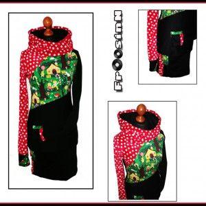 Hänsel und Gretel by www.FrOosinN.de #FrOosinN #Hoddy #Kleid #bunt #Mode #Hänsel #Gretel #Punkte