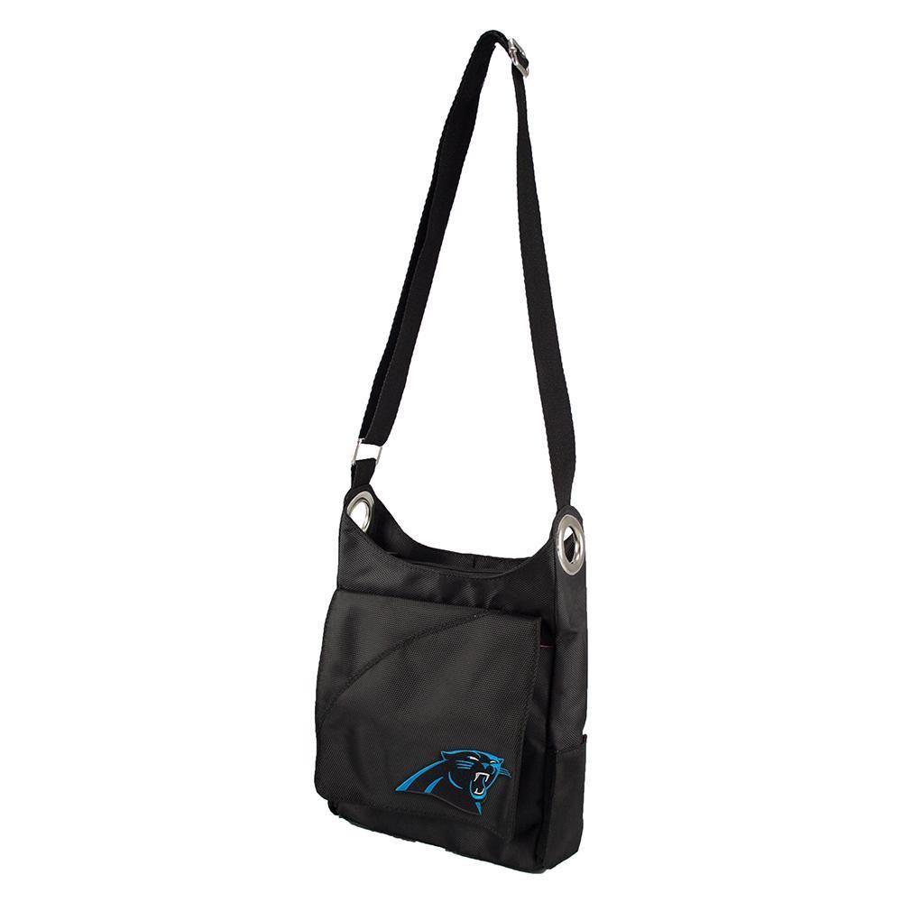 Carolina Panthers NFL Color Sheen Cross-body Bag (Black)