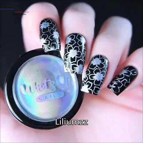 Pin By Yanina Lancaster On Manicura De Unas In 2020 Nail Art Hacks Nail Art Designs Videos Nail Art Videos