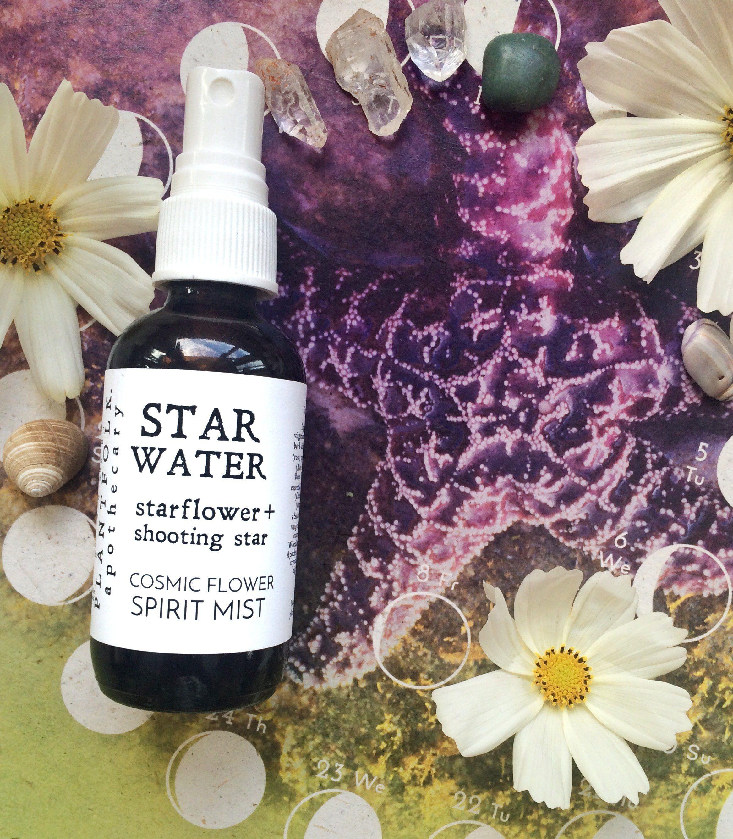 Star Water Starflower Shooting Star Spirit Mist Mists Flower Essences Shooting Stars