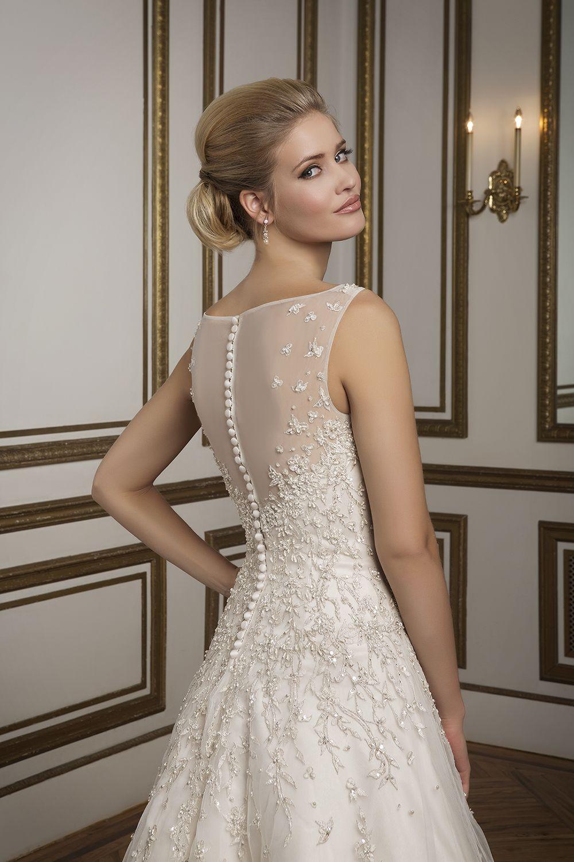8813 #justinalexander #sparkle #glamour #weddingdress #bridal ...