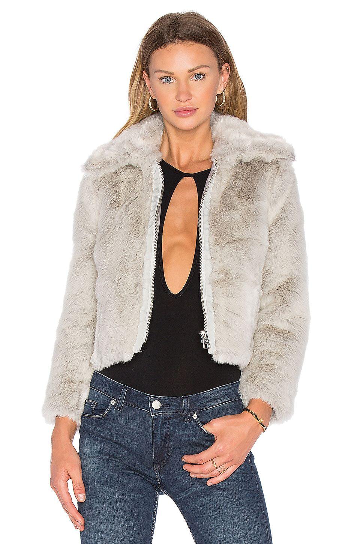 CHEAP MONDAY PACE FAUX FUR JACKET. #cheapmonday #cloth #dress #top ...