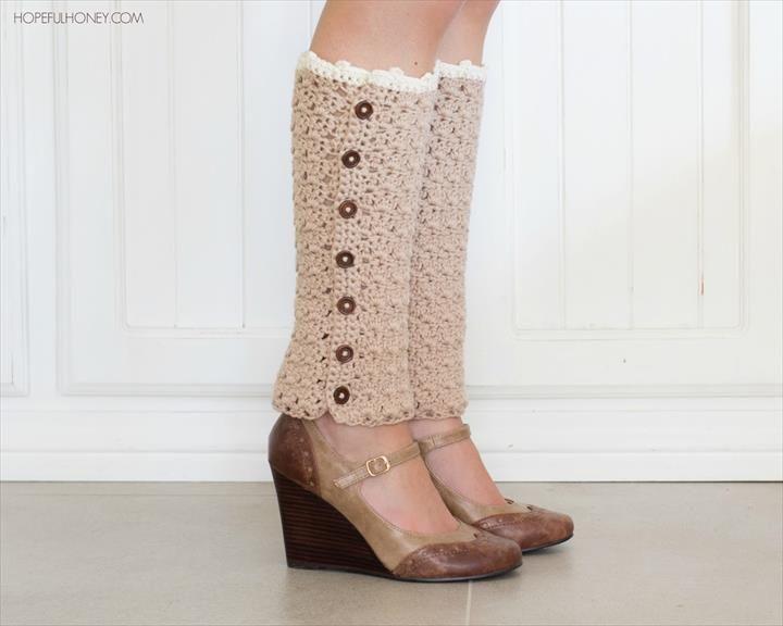 72 Adorable Crochet Winter Leg Warmer Ideas | Darn Yarn ...