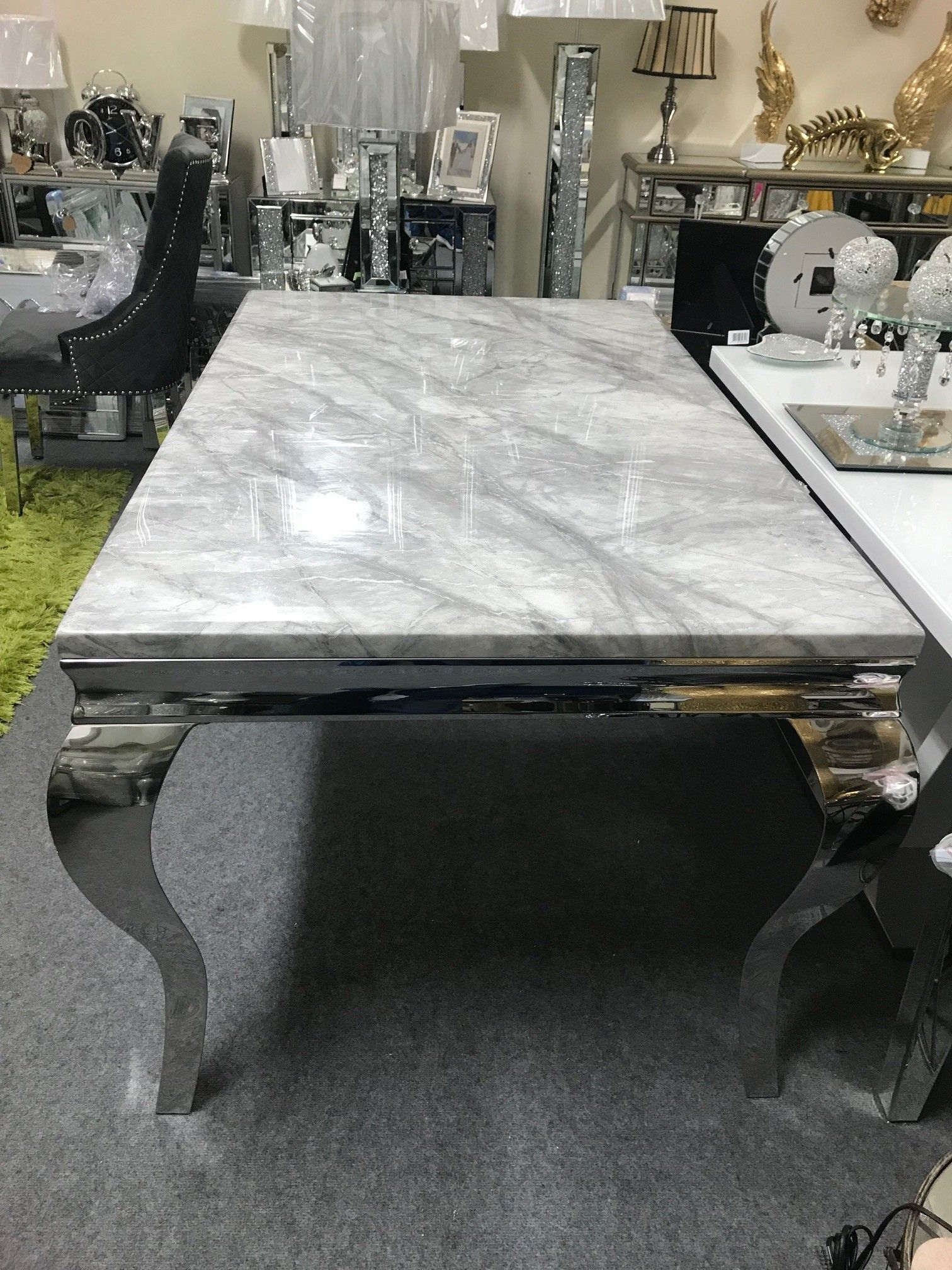 Louis Marble Dining Table 1 5m Long Marble Dining Dining Table