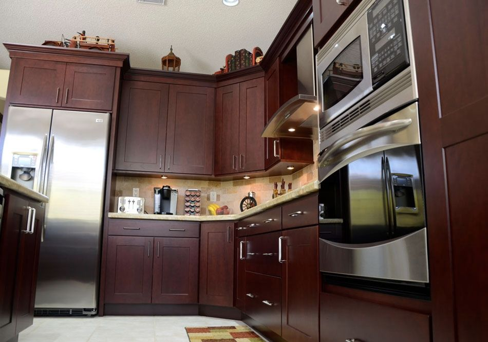 Designed By KabCo Kitchens In Florida, This Cherry Showplace Features Our  Cordova Stain. Thanks