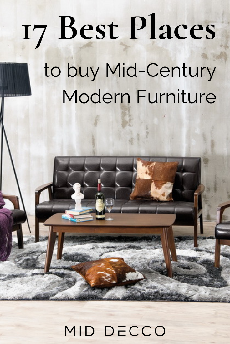 Deciding where to buy mid century modern furniture can feel like a daunting challenge